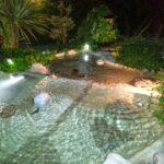 bio laghi con illuminazione ad immersione