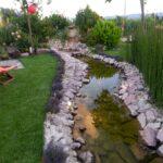 Realizzazione lago artificiale per carpe koi