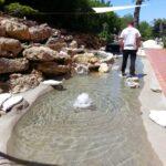Realizzazione laghi per carpe koi