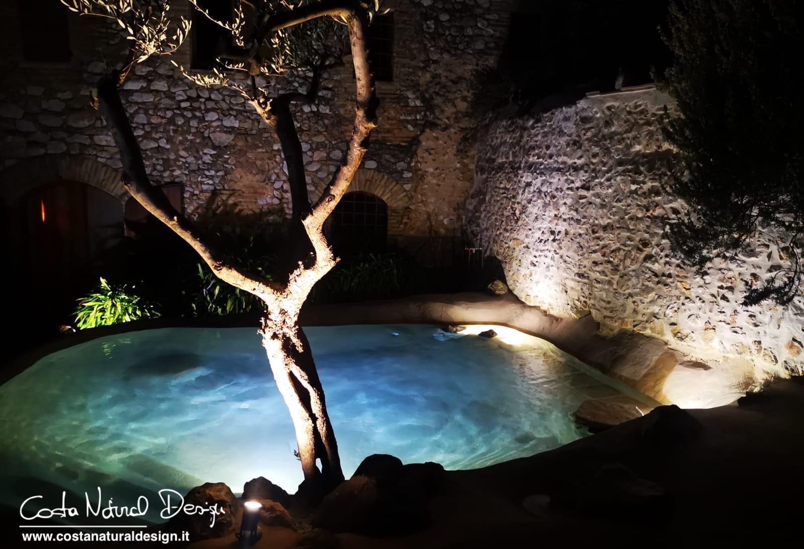 realizzazione di una mini piscina eco compatibile