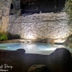 piscina ecocompatibile con illuminazione ad immersione