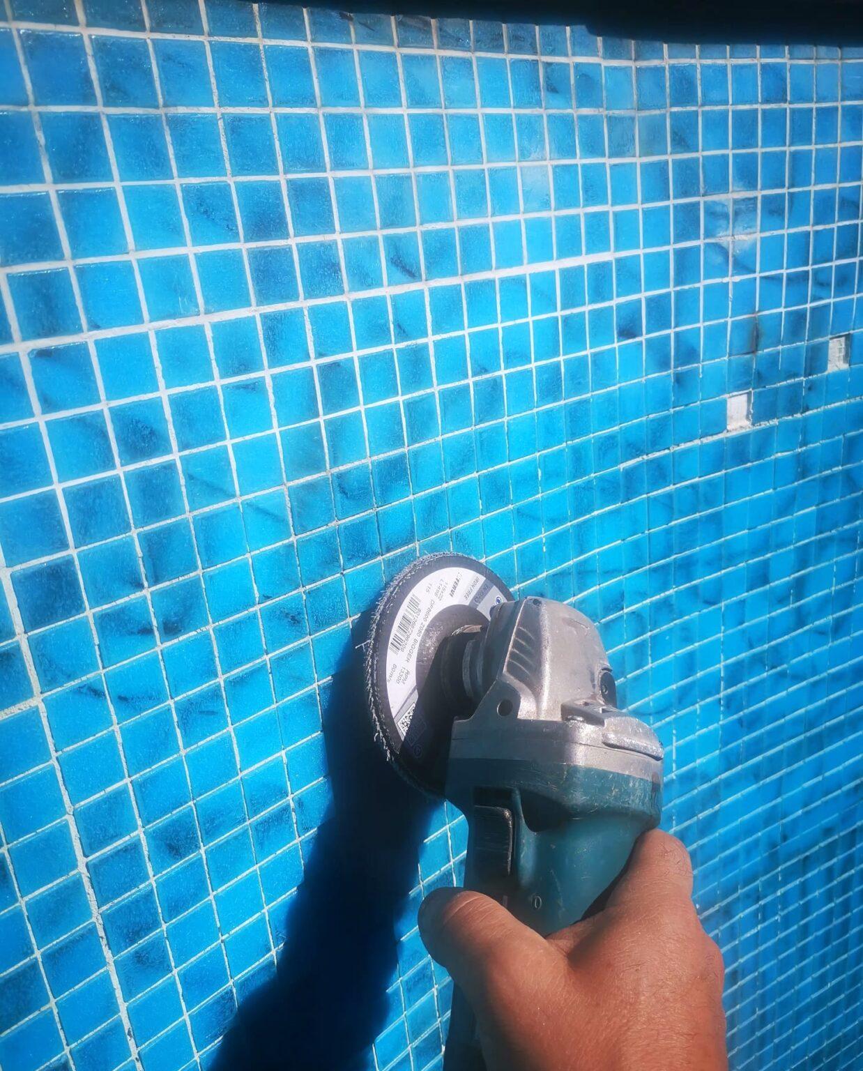 ripristino di una vecchia piscina