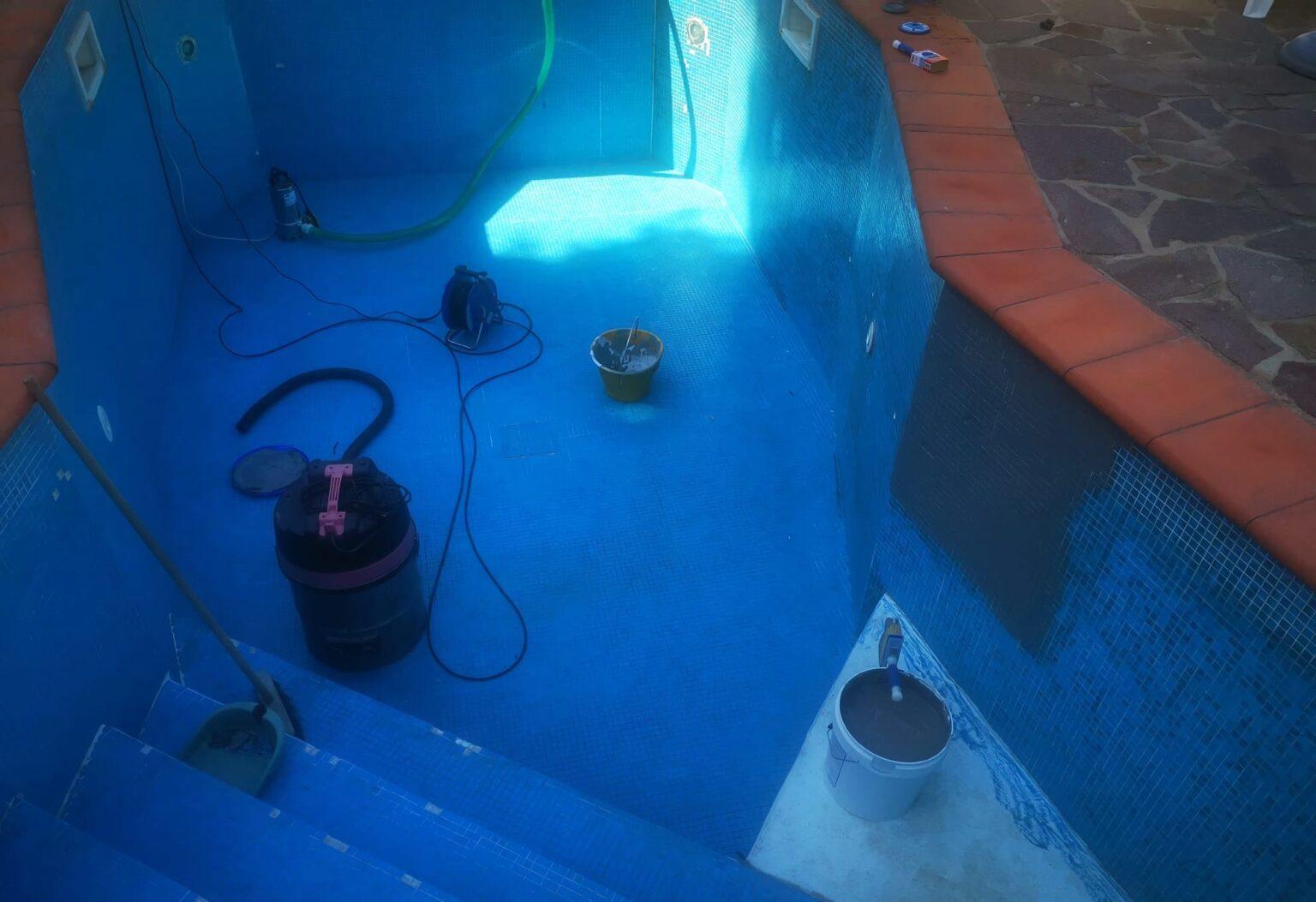 ripristino piscina vecchia