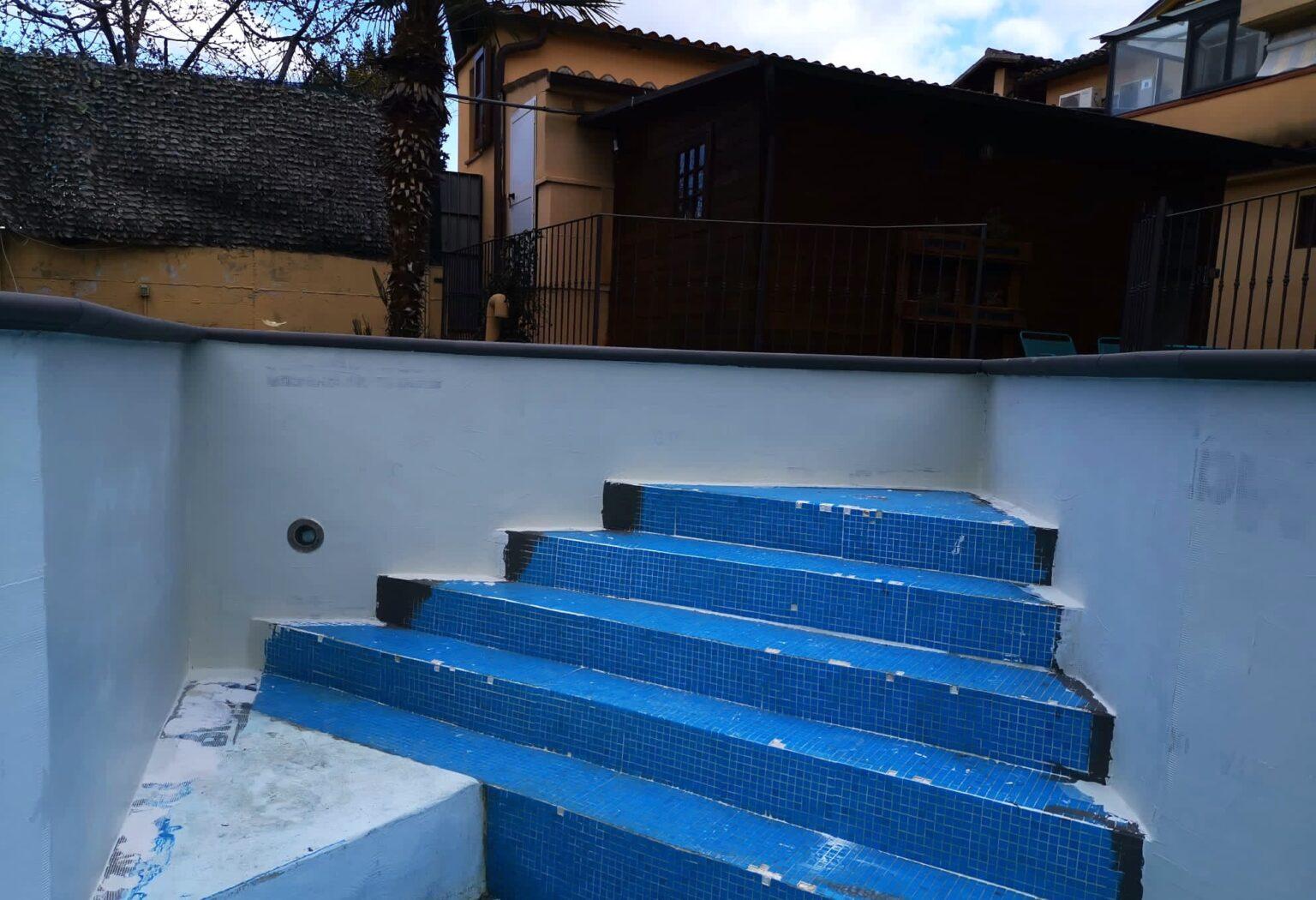 ripristino vecchie piscine con resine