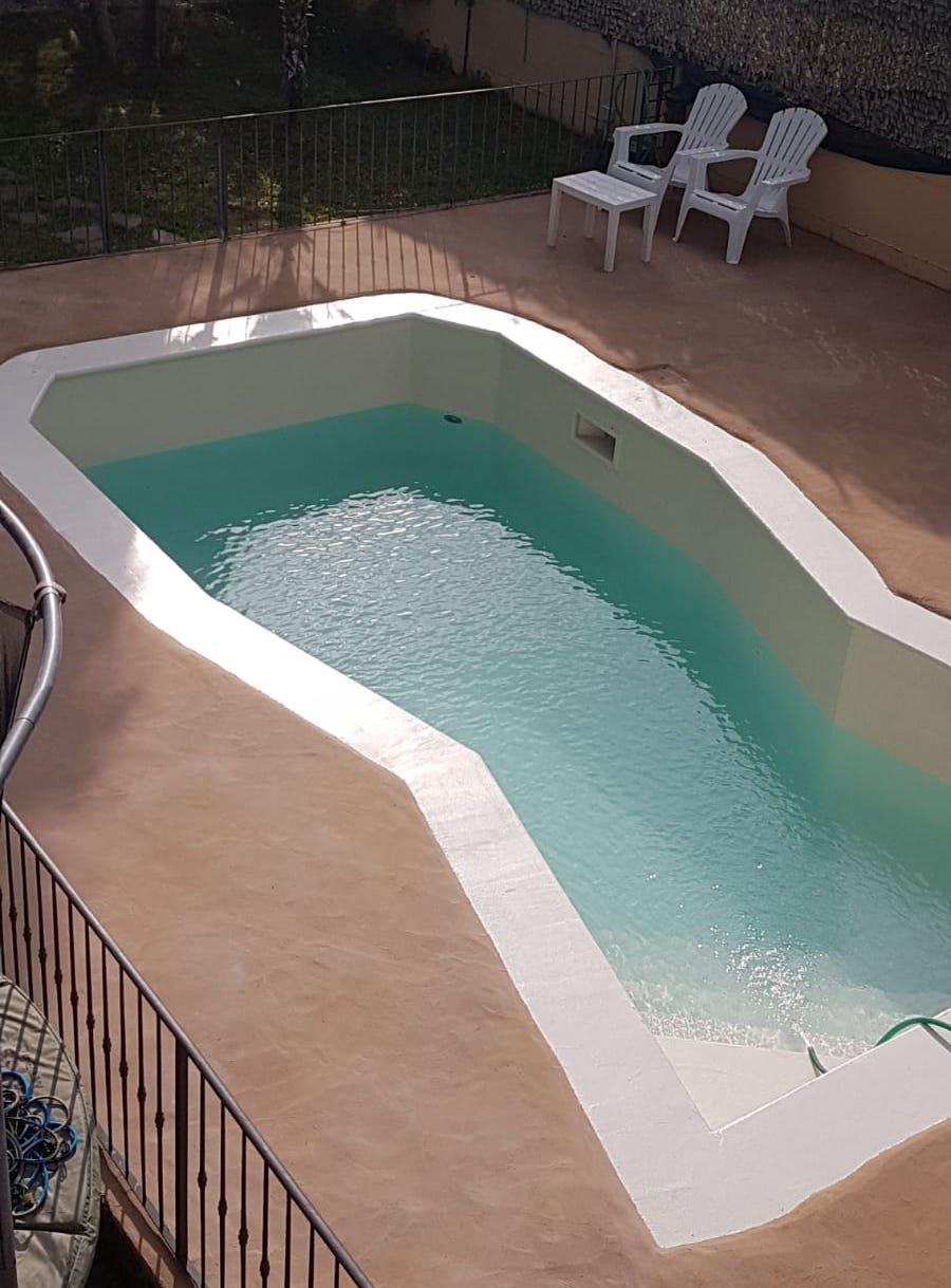 Il risultato del ripristino di una vecchia piscina