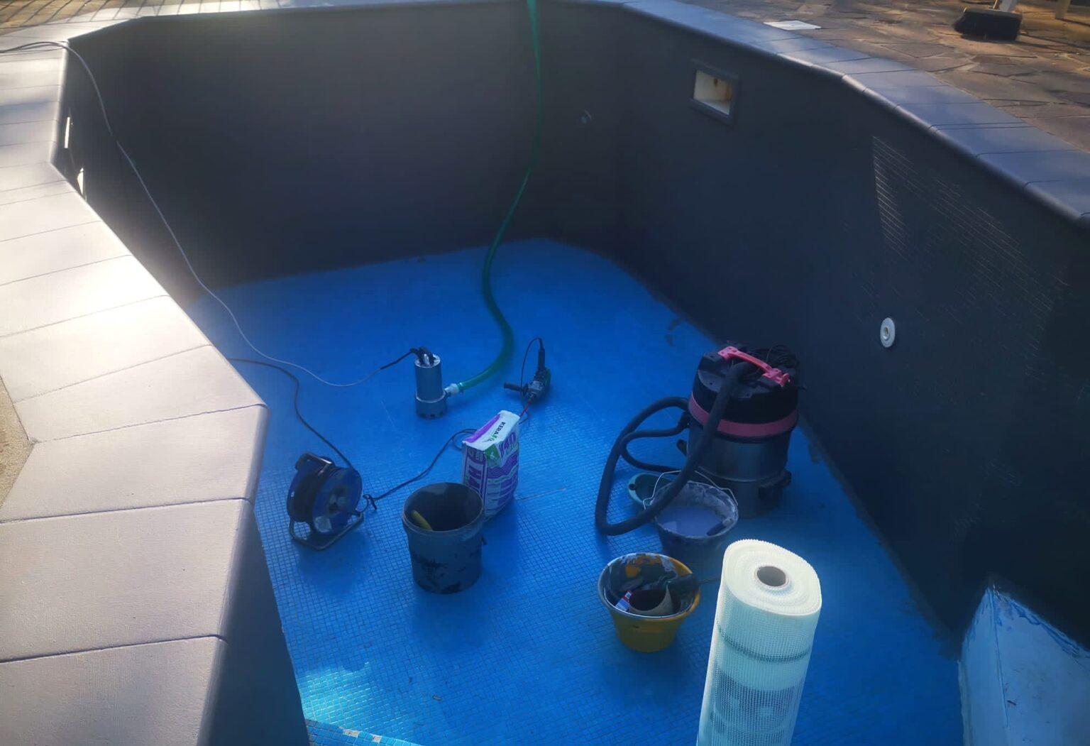 Ripristino piscine con resina