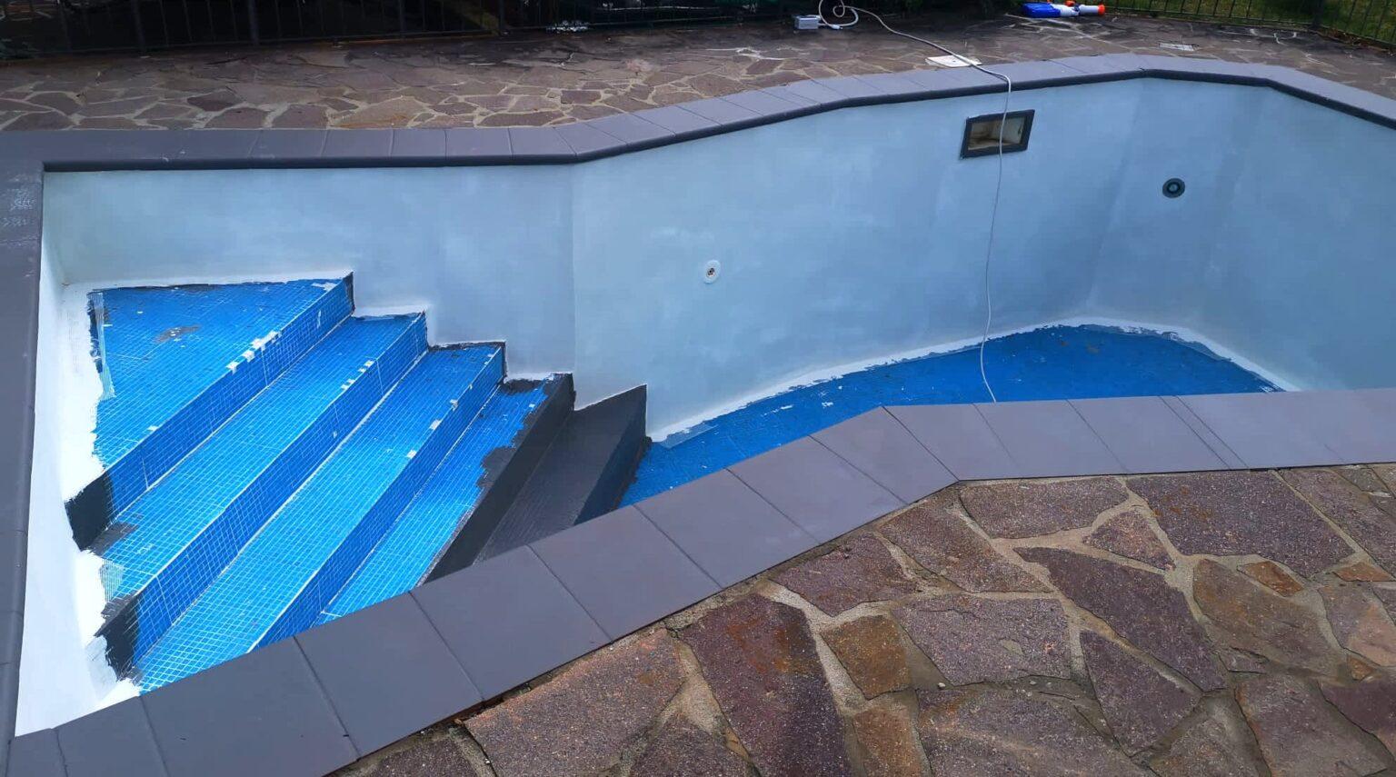 Ripristino piscine con resine